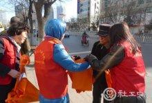 潍坊人民商城社区雷锋日志愿服务活动简讯_社工·义工_队伍建设