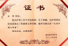 """湖北总队医院女获湖北省2018年""""优秀护理工作者""""称号"""
